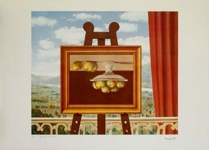 Rene Magritte Morning Awakening
